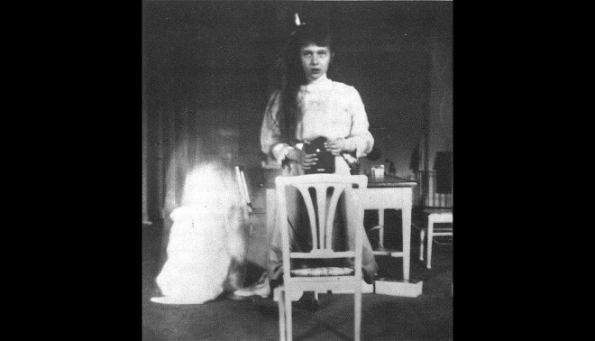 Selfie of Grand Duchess Anastasia