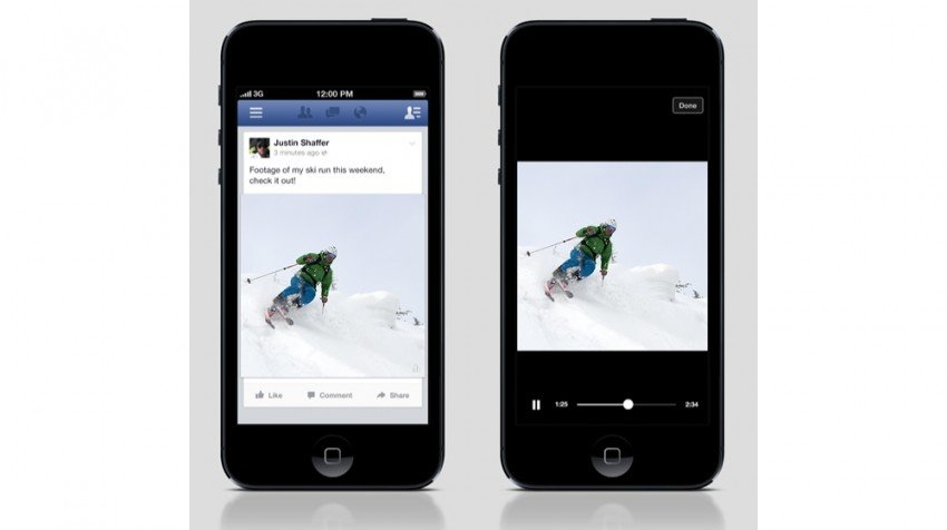 Facebook Mobile Videos Now In Auto-Play Mode