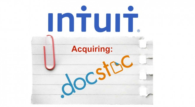 Intuit agrees to acquire Docstoc