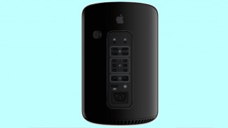 cylindrical Mac Pro