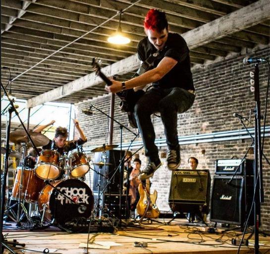 school of rock performance