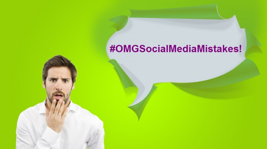 social media mistakes in business