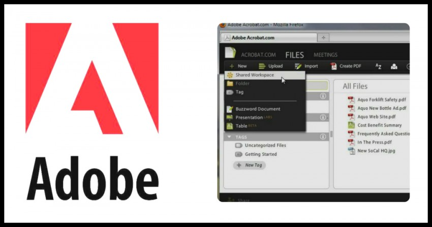 Adobe Workspaces