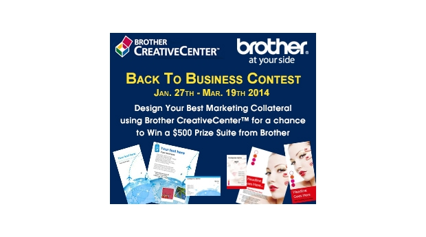 "Enter the Brother ""Back to Business"" Contest For $500 Prize"