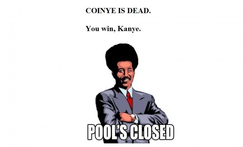 coinya is dead