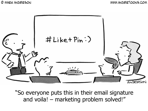 marketing problems cartoon
