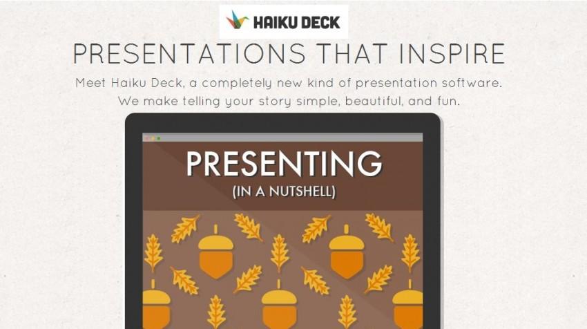 Haiku Deck Offers PowerPoint Alternative, Fewer Features Touted