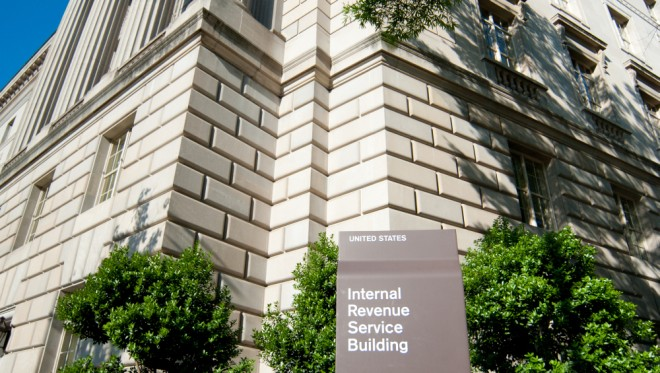 IRS building - 1099 forms