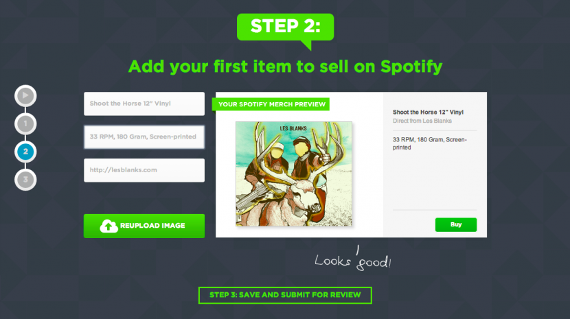 Spotify Allows Music Artists To Sell Merchandise Through Online Profiles