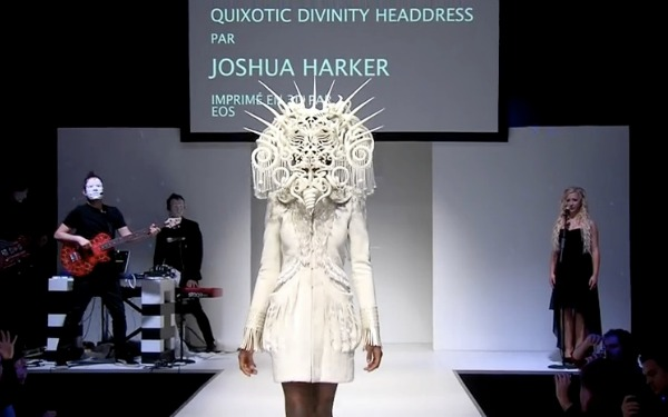 Have You Ever Been to a 3D Printed Fashion Show?