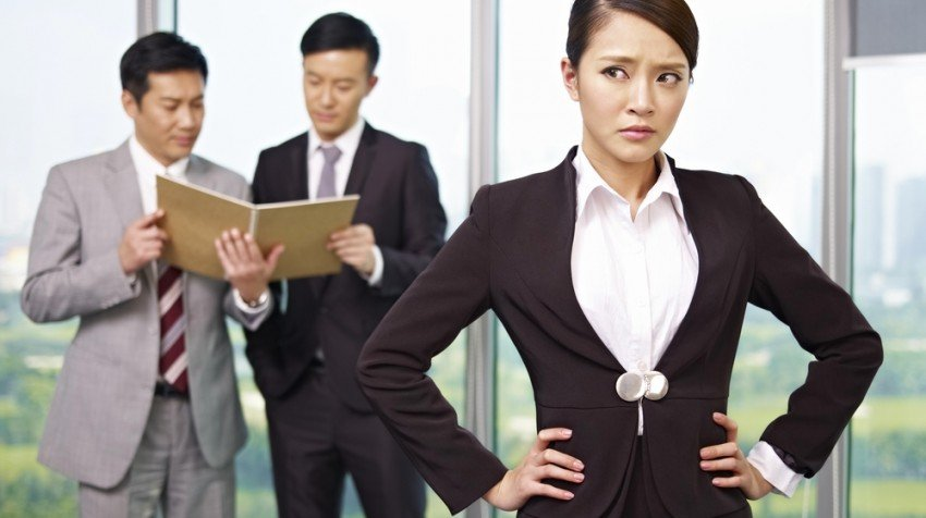 discrimination against women in the workplace