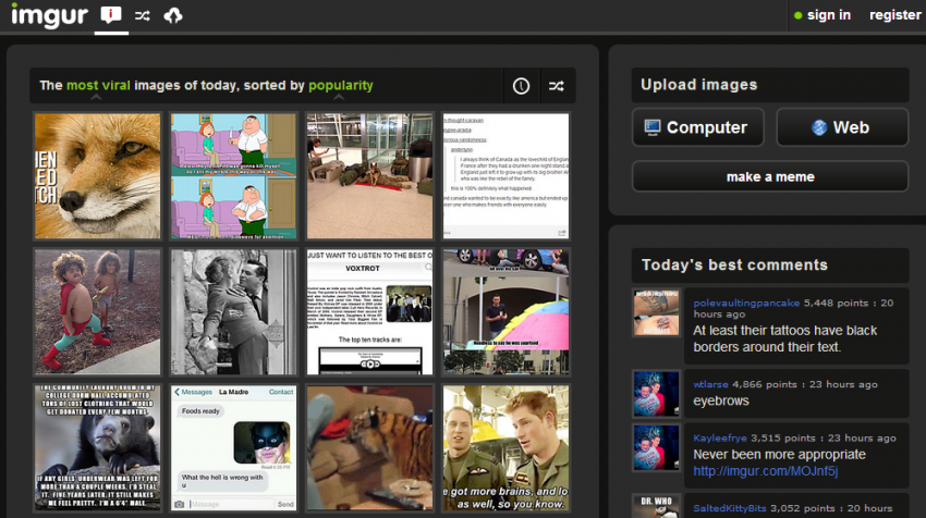 Bootstrapping Site Imgur Launches Analytics to Measure Photo Success