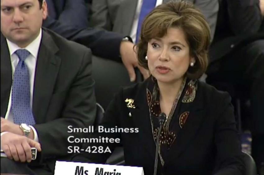 SBA nominee Maria Contreras Sweet