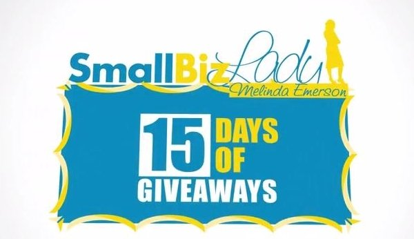 15 days of giveaways