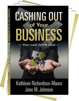 cashing out of your business book