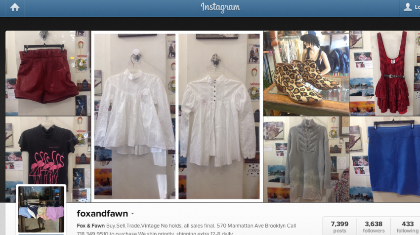 Retailers Are Striking Gold with Instagram