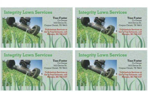 integrity lawn services