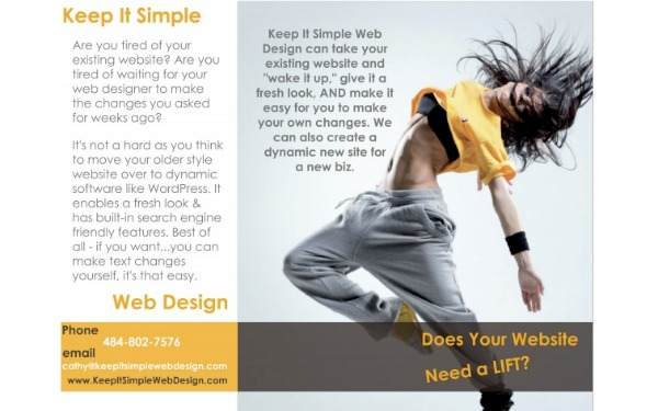 keep it simple web design