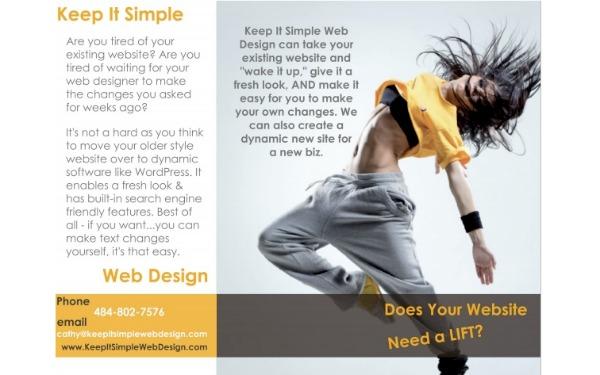 keep it simple web design