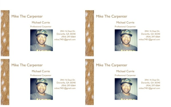 mike the carpenter
