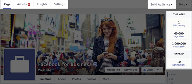 new facebook business page design 3