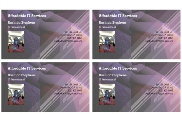 rashida stephens it service