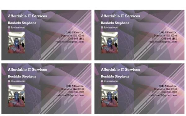 rashida stephens it service