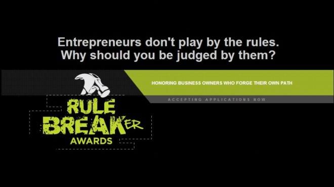 rule breaker awards logo
