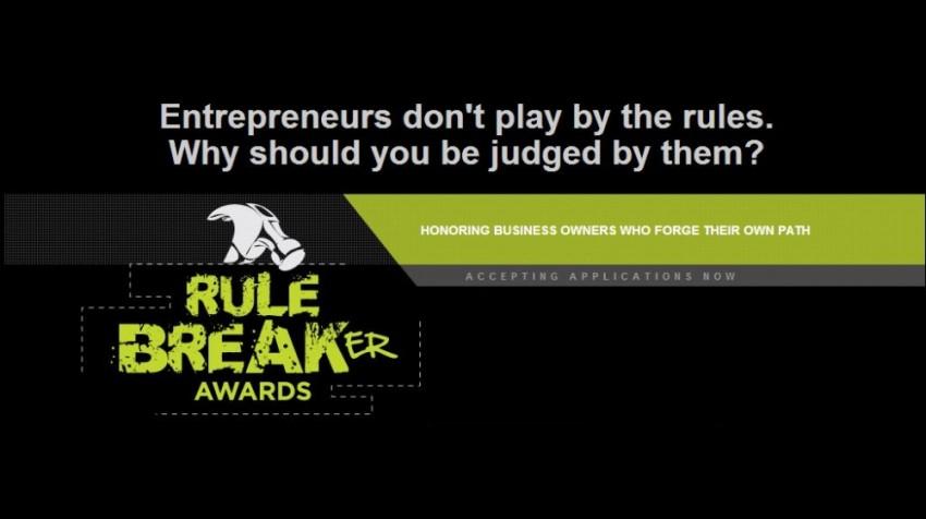 rule breaker awards logo