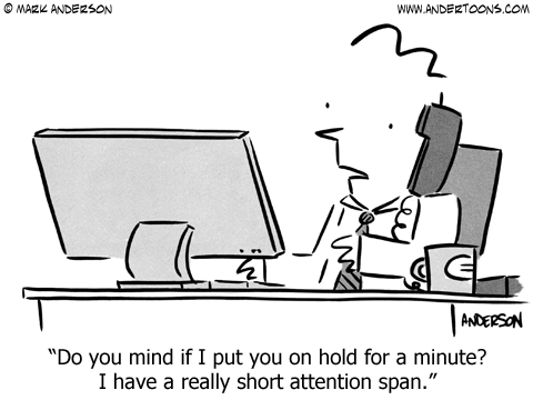 short attention span cartoon