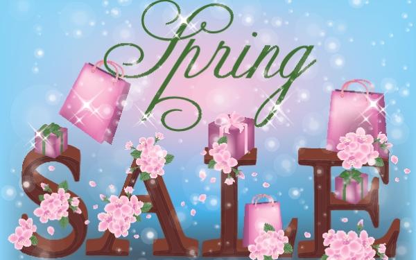 spring retail sale ideas