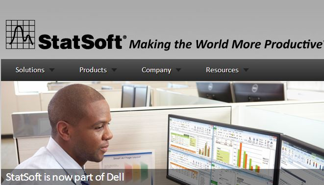 Dell Acquires StatSoft, Continues Push Toward Cloud and Software Services