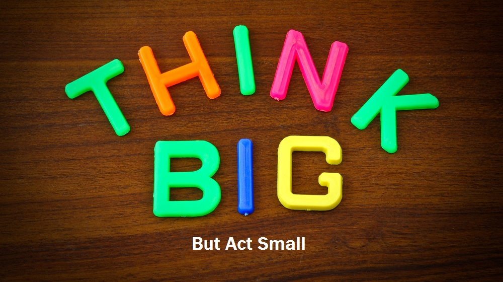 The Power of Thinking Big, But Starting Small