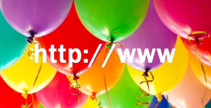 world wide web birthday
