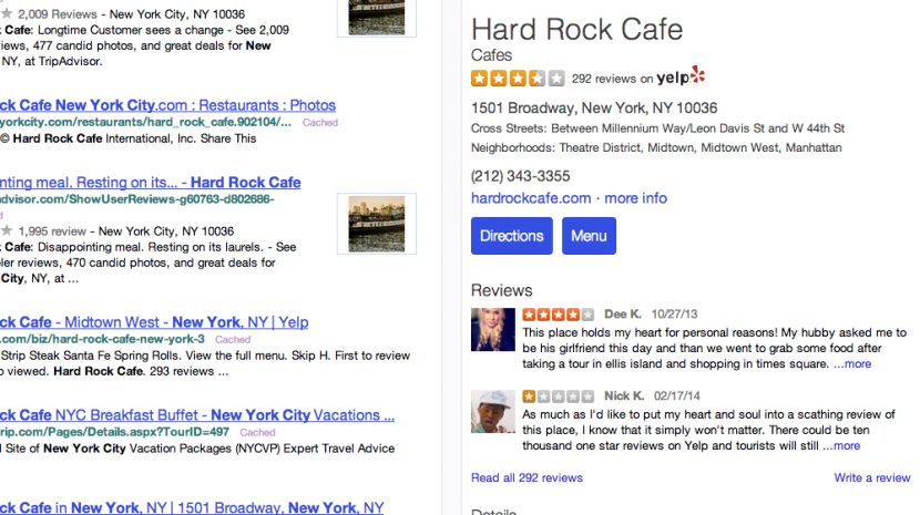 It's Official: Yelp Listings Are Now On Yahoo, Here's How They Look