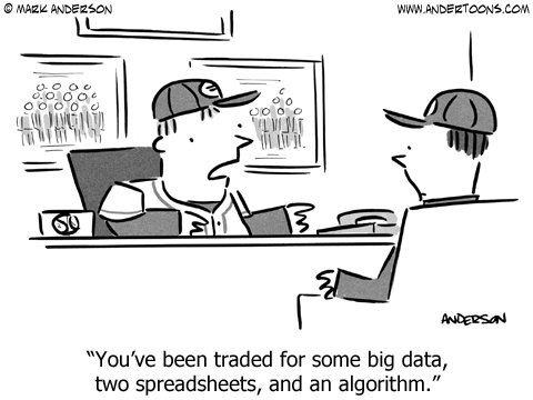 business baseball cartoon