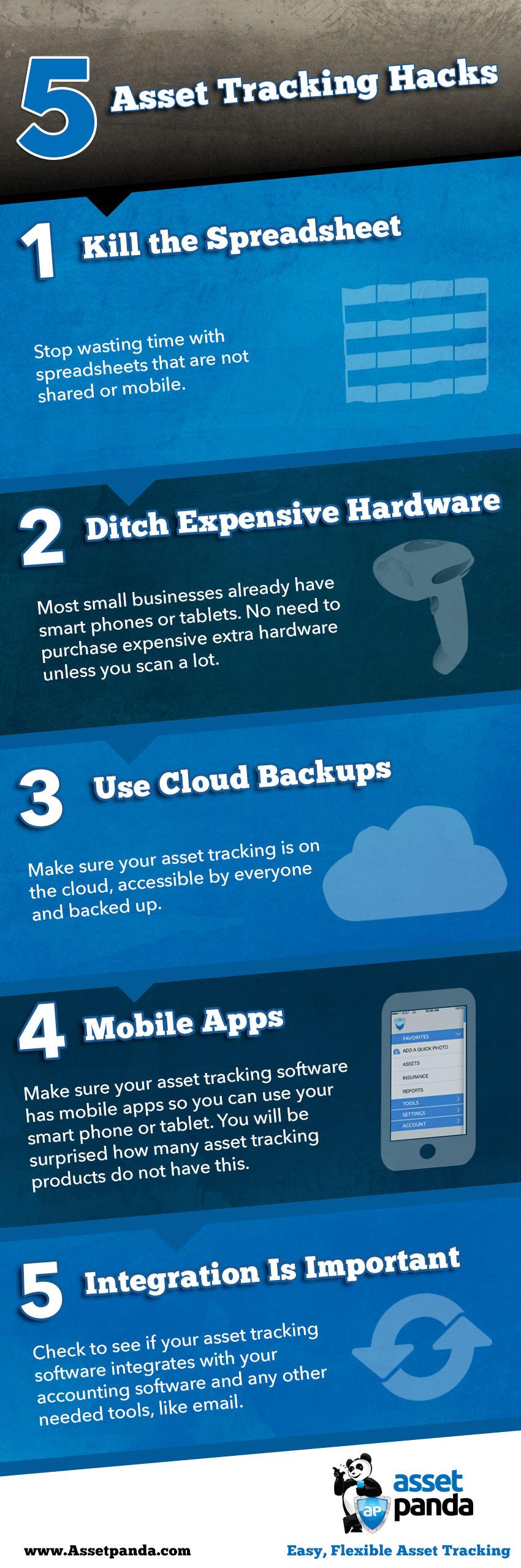 5 Asset Tracking Hacks