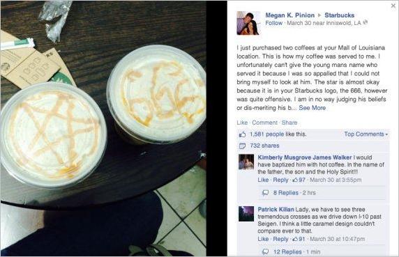 satanic lattes
