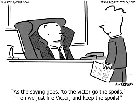victor go the spoils cartoon