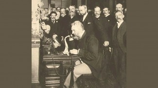 Alexander Graham Bell original phone system