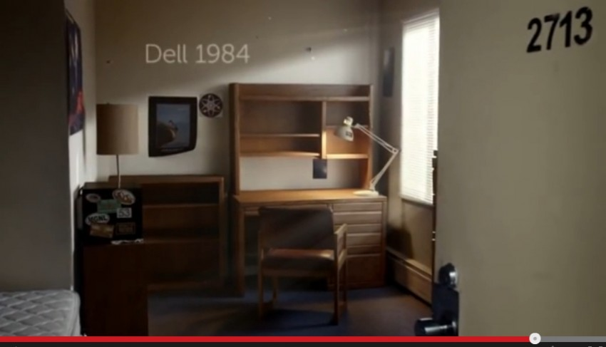 Dell Beginnings startup ad campaign
