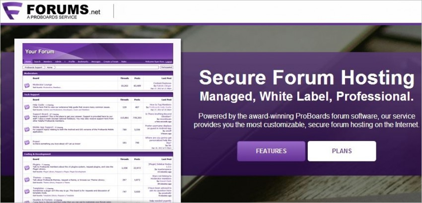 new forum service
