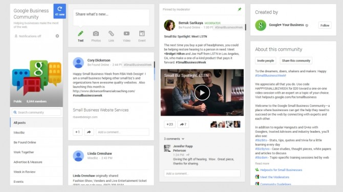 Google Small Business Community