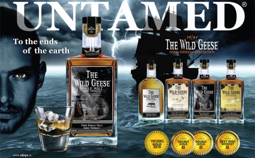 wild geese whiskey battles bacardi