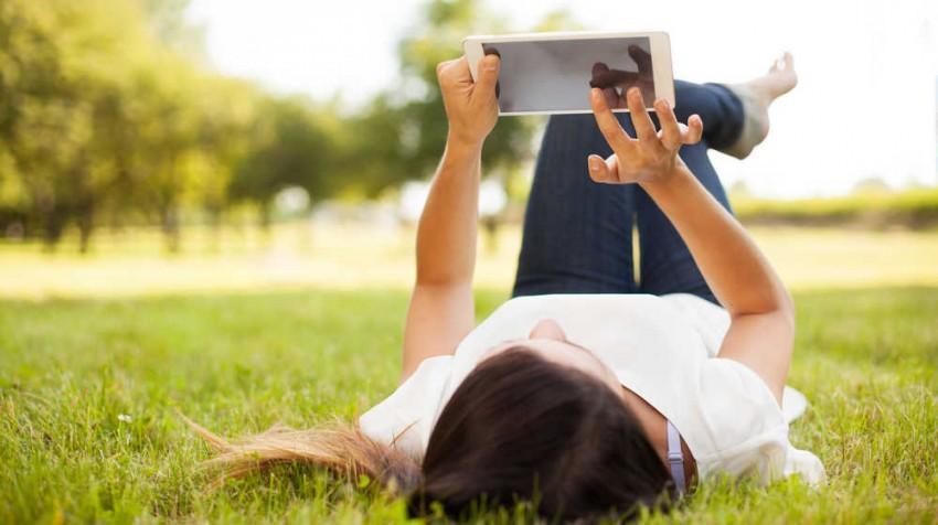 Summertime tablet readingEDIT