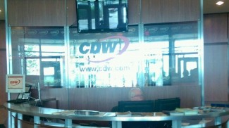 CDW tech blogger tour - reception area