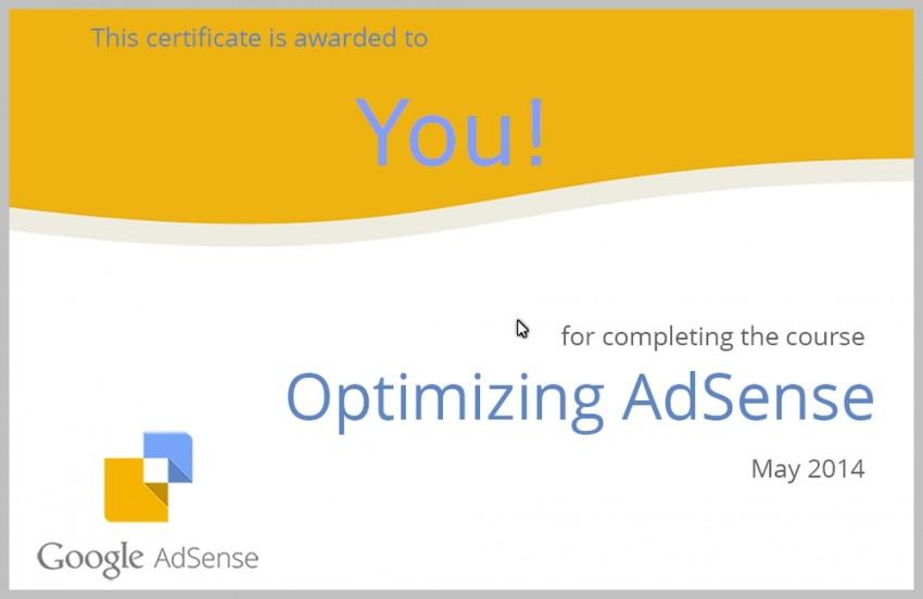 Optimizing Google AdSense