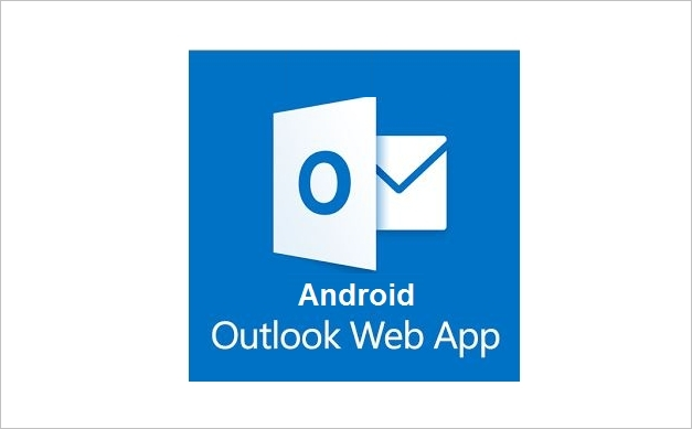 android outlook web app