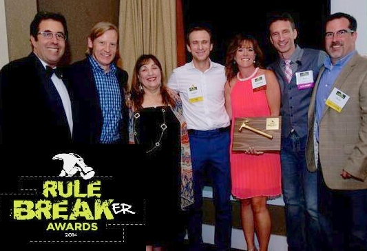 rule breaker awards 2014
