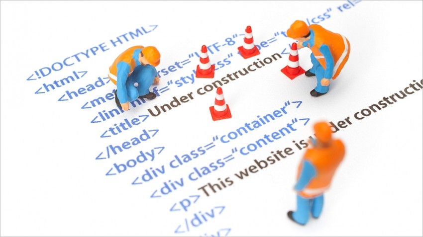 building a professional website
